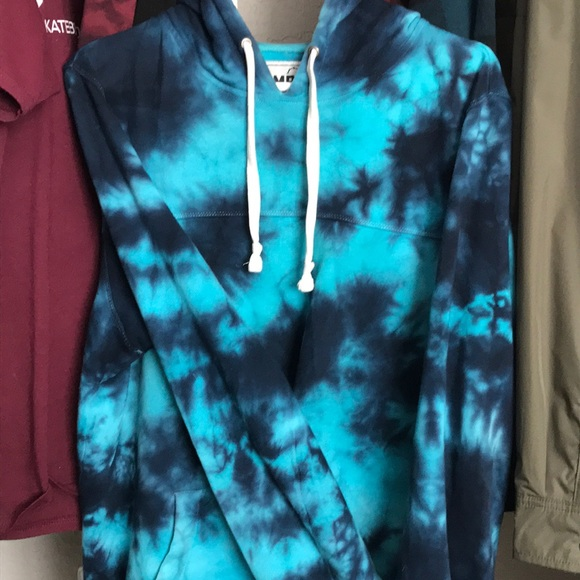 Empyre Other - Blue tie dye hoodie